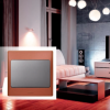 Mallia Legrand Copper and Dark Silver switch