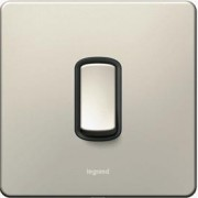 Synergy Legrand Modern Nickel switch