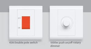 Belanko Legrand DP and Dimmer switches