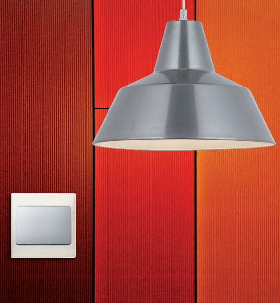 Mallia Legrand Pearl and Silver switch
