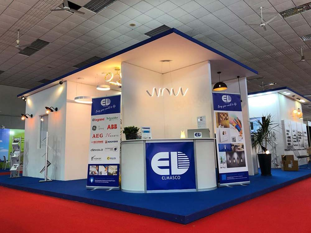 Elmasco exhibition booth