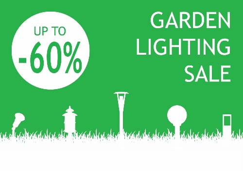 Garden lighting sale Cyprus
