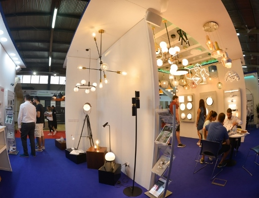 Elmasco exhibition in Cyprus - electrical and lighting
