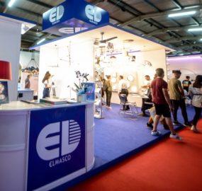 Elmasco lighting electrical exhibition